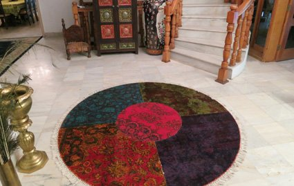 patchwork rugs collection